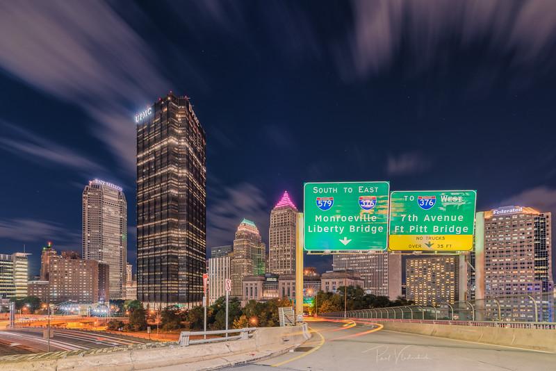 Highway Entrance - Pittsburgh Pennsylvania