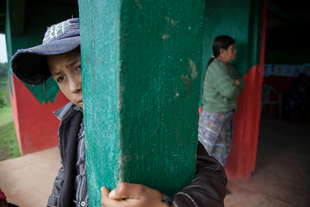 . Gilberto Haroldo Ramos Juarez, 11, brother of Gilberto Francisco Ramos Juarez, a Guatemalan boy whose decomposed body was found in the Rio Grande Valley of South Texas, answers questions during an interview at his family\'s home in San Jose Las Flores in the northern Cuchumatanes mountains of Guatemala, Tuesday, July 1, 2014. Gilberto Francisco\'s parents confirmed to The Associated Press on Tuesday that he was 15, and the date was wrong on his birth certificate. In the remote mountains, they had taken several years to register his birth and forgot the date. So they listed the same date as his younger brother.  (AP Photo/Luis Soto)