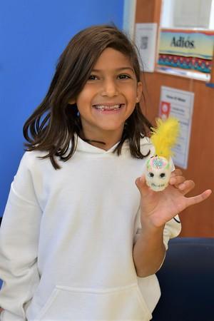 "Making ""Calaveras de Azucar"" In Fourth-Grade Spanish"