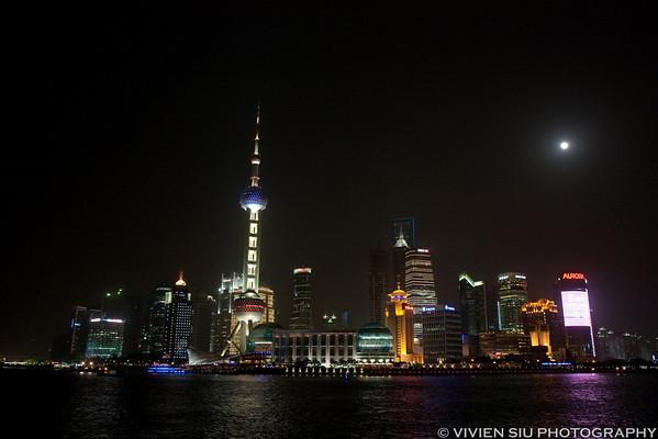 Shanghai Pudong, The Bund, and Xintiandi