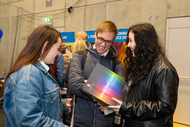 "22/11/2019. FREE TO USE IMAGE. Pictured at Waterford Institute of Technology (WIT) Open Day. Pictured are Tara Myers, Kacper Pilarek and Emily Myers from Waterpark, Waterford City. Picture: Patrick Browne  Two open days taking place this week for school leavers and adult learners at WIT Arena  Families of south east Leaving Cert students wishing to get as much course and college-related research done as early as possible in sixth year can do so by attending the Waterford Institute of Technology (WIT) Saturday Open Day, 9am-2pm on 23 November 2019. The traditional schools' open day will run as usual on Friday, 22 November with a focus on information for secondary school students, students in further education colleges, and other CAO applicants, including mature students.  The Saturday Open Day – isn't just about courses for school leavers – it will have information available on the courses available across WIT's schools of Lifelong Learning, Humanities, Engineering, Science & Computing, Health Sciences, Business.  Adults interested in upskilling, or re-skilling can find out about Springboard courses, traditional evening courses as well as part-time and postgrad courses which are offered. WIT also runs specialist programmes for education, science, engineering and other professionals. The number of students studying WIT's part-time and online courses increased to 1650 in 2018, a 28% increase on 2017.  WIT Registrar Dr Derek O'Byrne says: ""A trend we are seeing at WIT Open Days is that students who may have enjoyed the Schools Open day with their friends and school groups, will return the following day with their parents or guardians.""  Students whose schools are attending are encouraged to join their school group on the Friday. As school students are fully catered for at the Schools' Open Day on Friday, there will not be the same breadth of school leaver focused talks and events at the open day on Saturday. However, says Dr O'Byrne it is useful for"