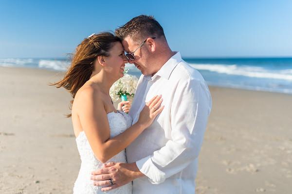 Ashley and Eric's Sandbridge Wedding