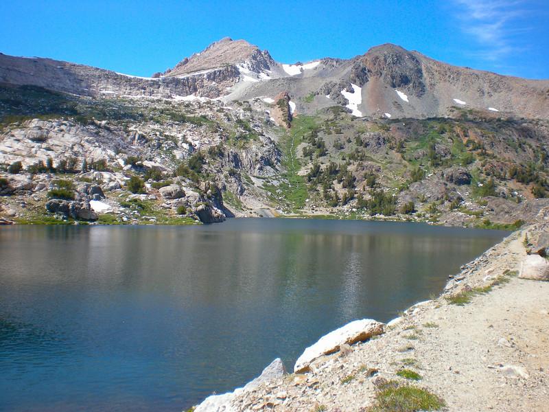 View back to Steelhead Lake
