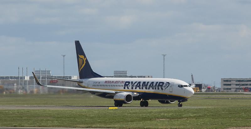 Ryan Air Boeing 737-8AS EI-EVF in Kopenhagen/DK.