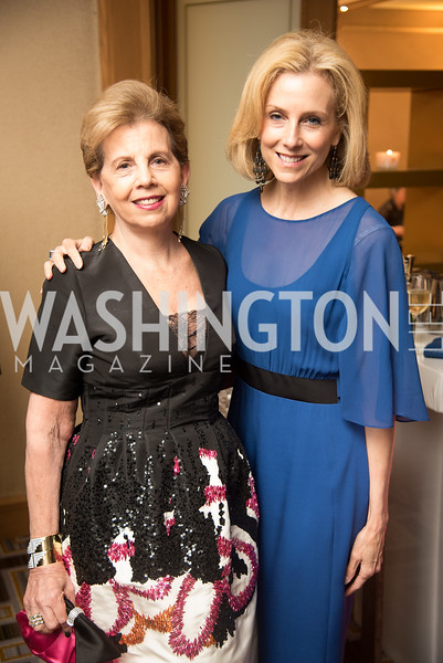 Adrienne Arsht, Katherine Bradley, Harvard Business School, Leadership Gala, DC, The Four Seasons, June 13, 2018.  Photo by Ben Droz.