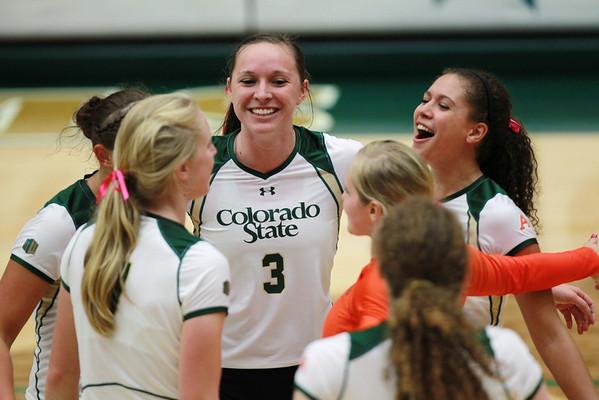 CSU vs. Wyoming Volleyball 2013