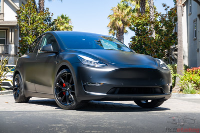 Model Y - Black XPEL Stealth and CQFR Coating 2
