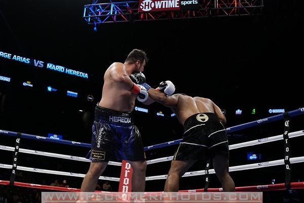 2017 George Arias vs. Mario Heredio