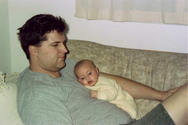99 Allen w Dad on couch_1.JPG