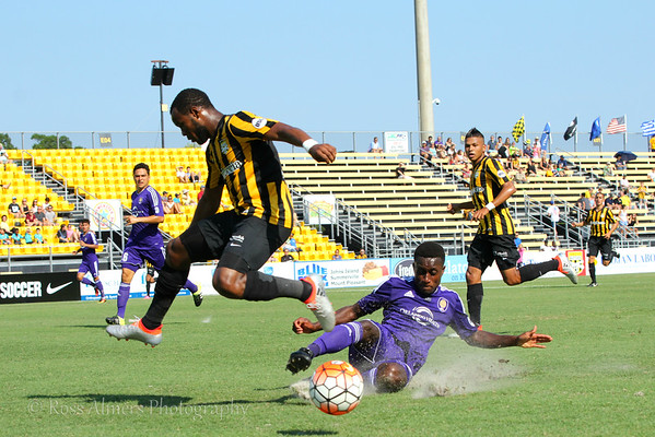 Charleston Battery vs Orlando City B June 11, 2016