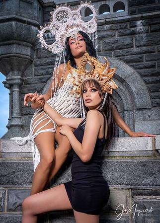 @nickybeeking & @shayluna_ Belvedere Castle September 2020