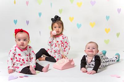 Baby Cousins A, T, & G