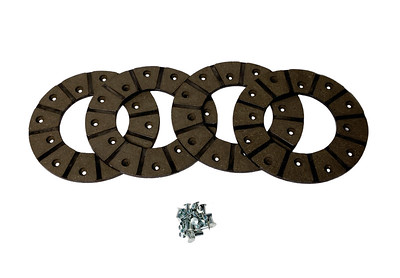 CASE FORD LEYLAND NUFFIELD BRAKE DISC LINING KIT