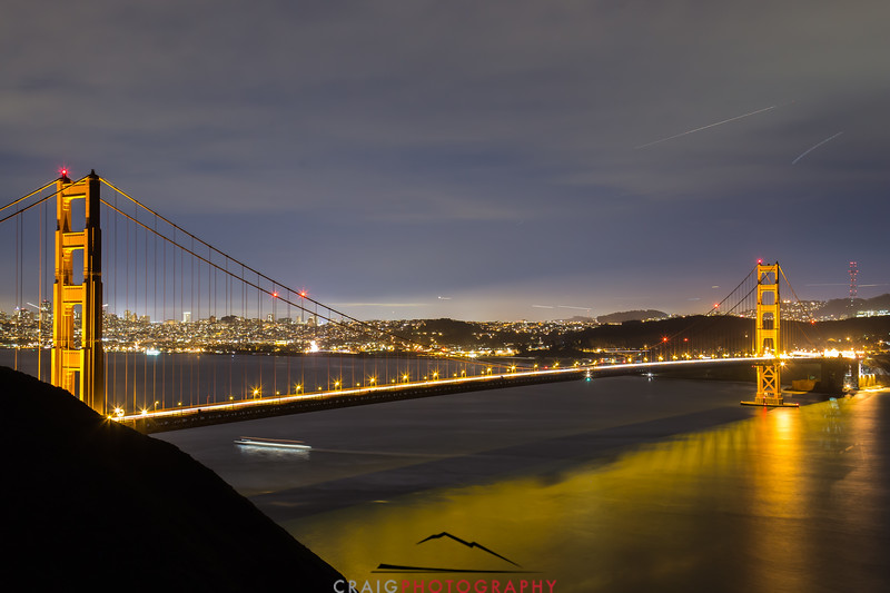 Golden Gate Bridge, nighttime 8