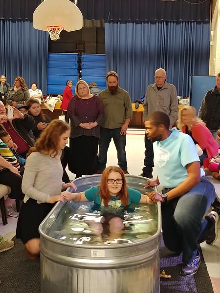 2018 November Hi-Crest Baptisms