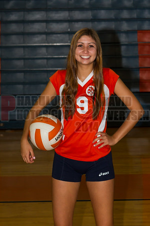 Girls Varsity Volleyball #9 - 2014