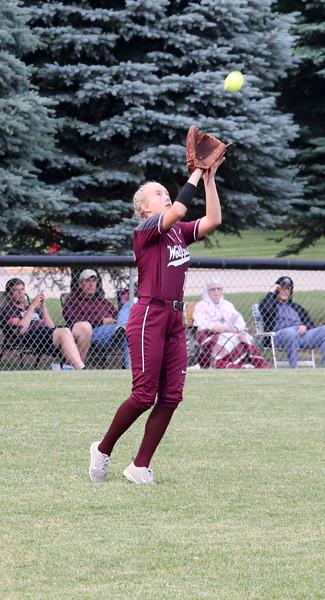 Western Christian softball versus Storm Lake 6-17-19