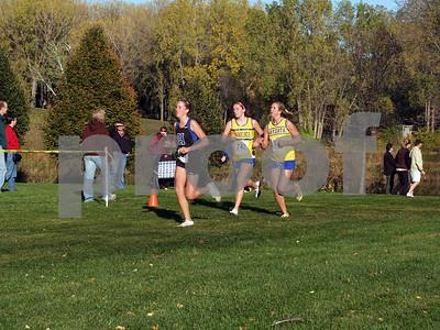X-Country / Grade Level Championships JR & SR GIRLS 10/20/2008