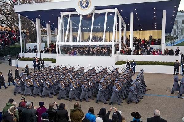 Obama Inaugural Parade_West Point Cadets