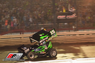 Knoxville Nationals Saturday - 8/12/17 - Paul Arch