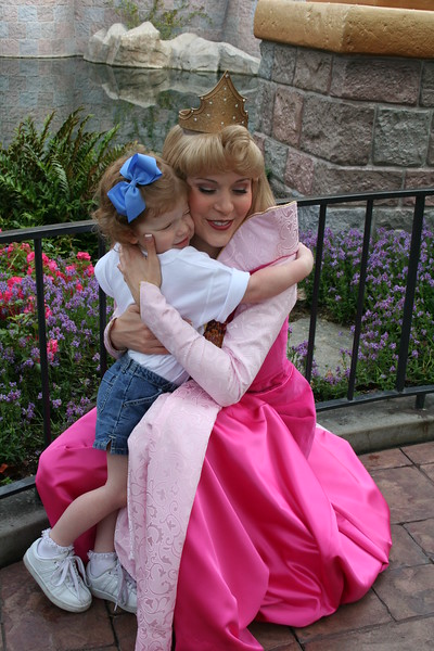 Hugs for the princess!