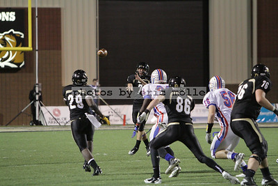 West Memphis Blue Devils at Bentonville Tigers - 7A Football Playoff Round 2 - 11/18/2011