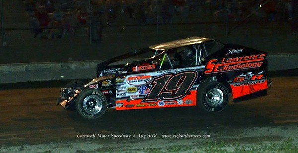 Cornwall Motor Speedway - 8/5/18 - Rick Young