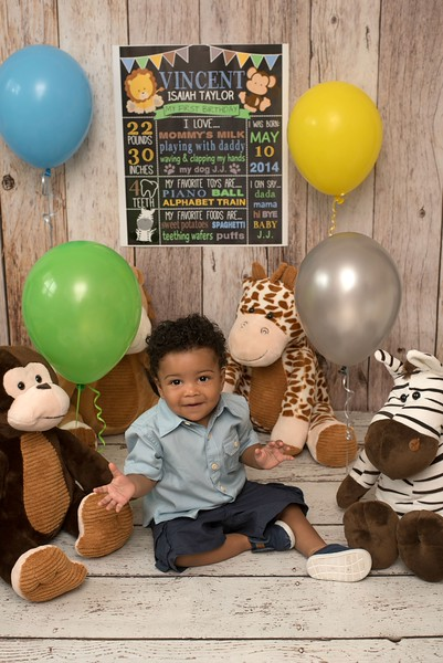 Vincent's 1st Birthday