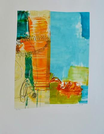 Sun Shine-Mackey, 22x30 painting on paper