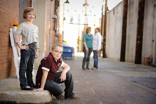 10-02-11. Meadors Family. Downtown Springfield.   A few more of my favorites from this shoot can be seen here:  www.facebook.com/milesboyerphotography