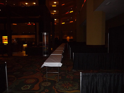 2011 Dealer Conference booths without staff