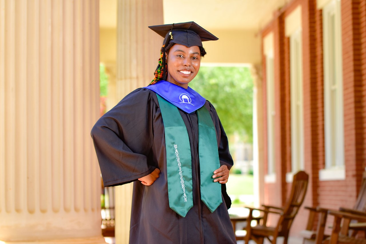 Image for Top-honor graduate keeps individuals informed