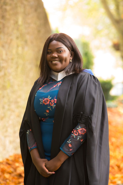 02/11/2018. Waterford Institute of Technology (WIT) Conferring Ceremonies 2018. Pictured is Francisca Masombo Waterford. Picture: Patrick Browne