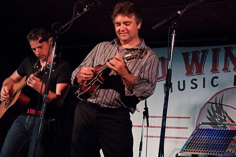 Ronnie McCoury (mandolin) of The Travelin' McCourys.