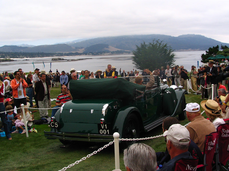 Chairman's Trophy Winner -- 1932 Tatra 80 Cabriolet owned by Evzen Majoros from Prague, Czech Republic