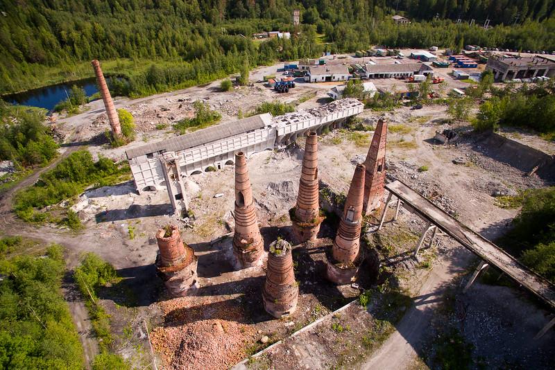 Verlassene Plätze: Kalkbrennöfen bei Ruskeala