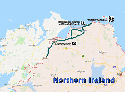 MAP - NORTHERN IRELAND