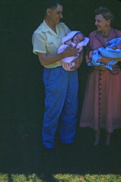 Grandpa & Grandma Turner with Lois & Jim
