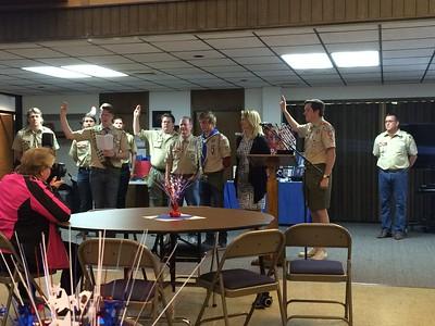 Jake Taylor's Eagle Scout Ceremony