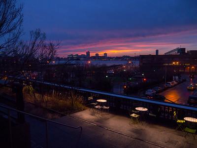 Highline at Night