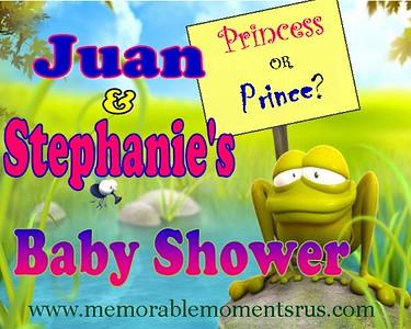 Juan & Stephanie Baby Shower