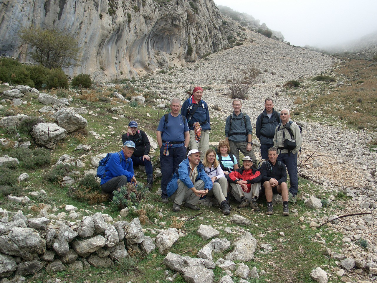 With the 40's Walkers on Malla del Llop