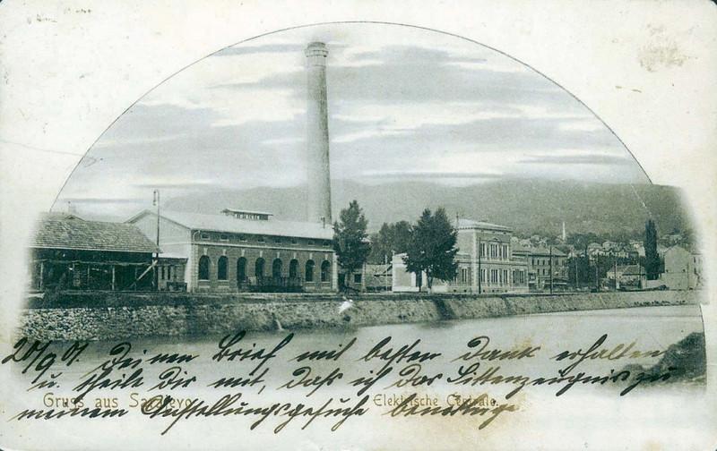 Električna centrala, 1900. godine