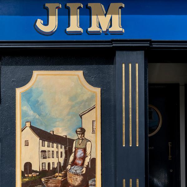 Restaurant sign, Kinsale, County Cork, Ireland