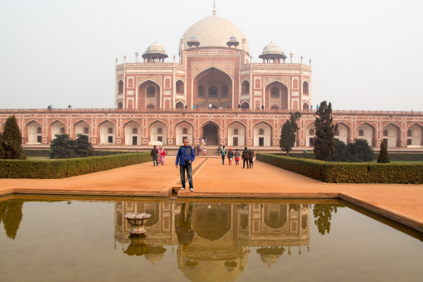 Humayun's tomb - New Delhi, India - December, 2015