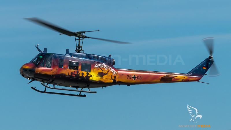 Heer THR30 / Bell UH-1D / 73+08 / Goodbye Huey Livery