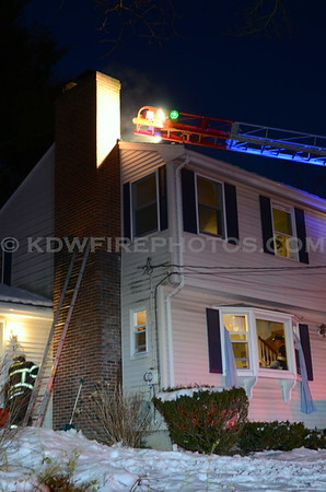 Reading, MA - Working Fire - 39 Mill St - 3/23/13