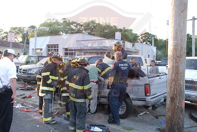 Amityville F.D. MVA w/ Entrapment and Medevac Merrick Rd. and Bryan Ave. 6/18/10