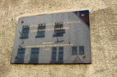 2012 Arrow Cross sites Budapest