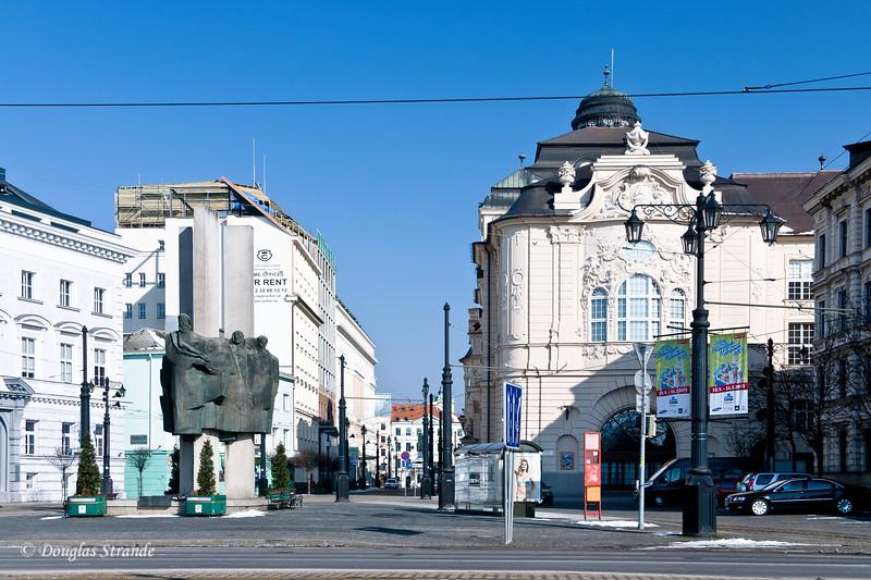 Bratislava street view